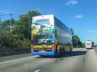Goodyear 巴士廣告