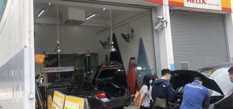 Provide car battery training for Shell